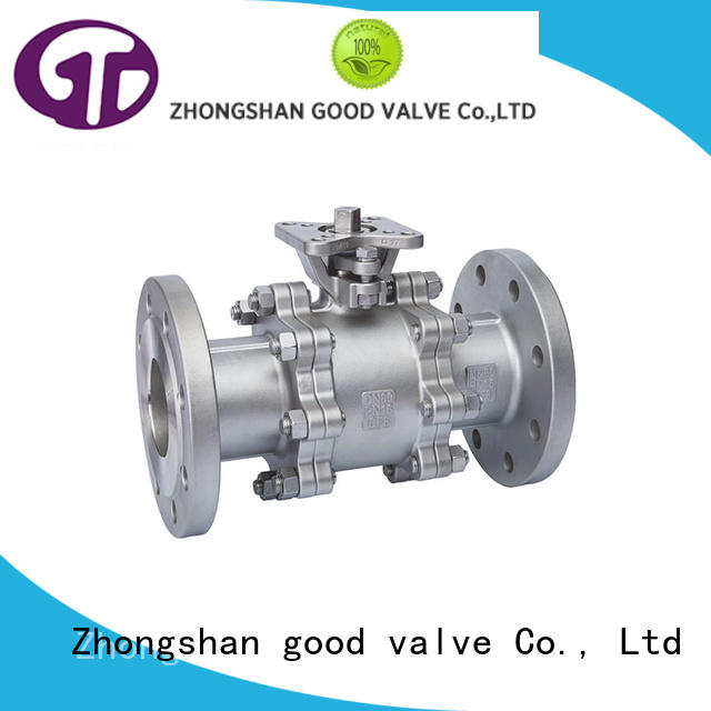 safety 2 inch flanged ball valve manufacturer for directing flow
