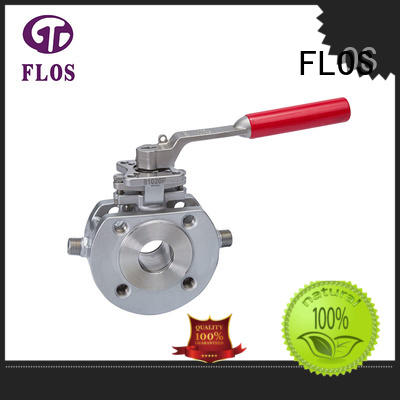 FLOS experienced 1 pc ball valve supplier for directing flow
