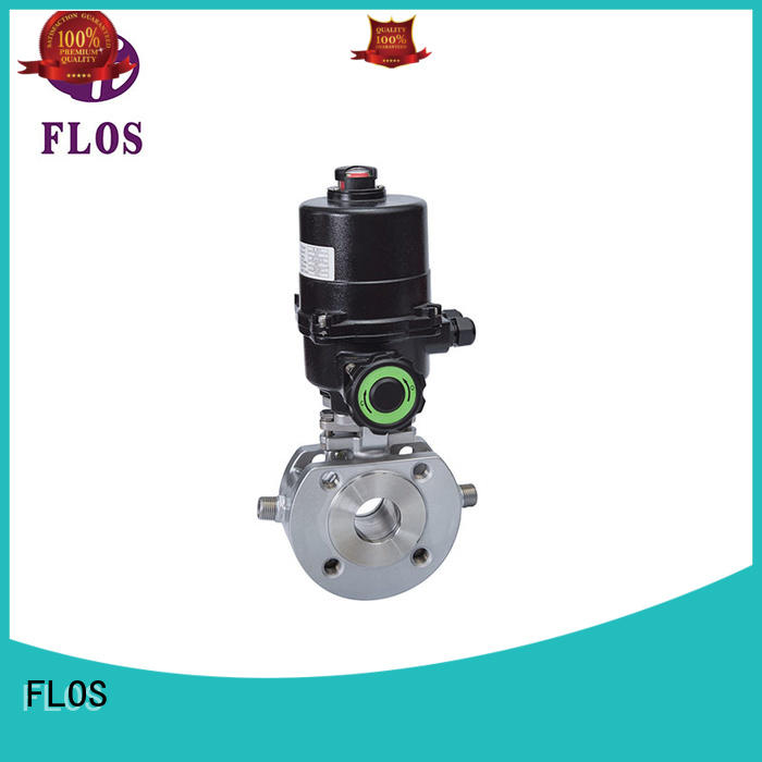 FLOS valveopenclose one piece ball valve wholesale for opening piping flow
