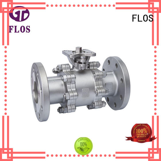 FLOS New 3-piece ball valve factory for directing flow