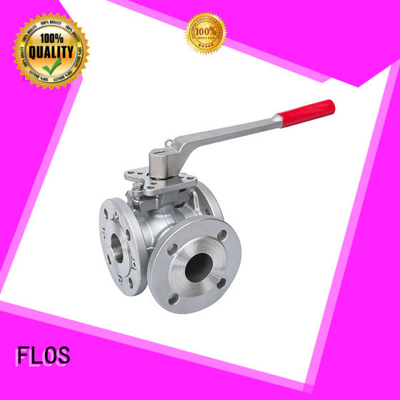 FLOS openclose 3 way valve manufacturer for directing flow