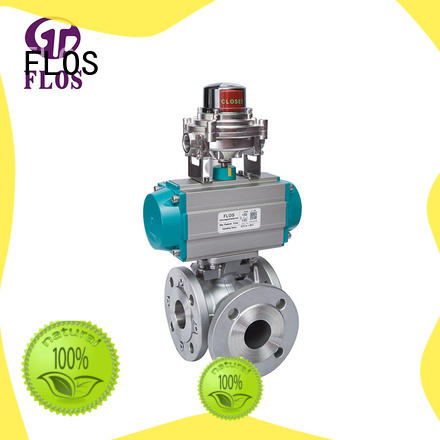 FLOS durable 3 way valves ball valves wholesale for opening piping flow