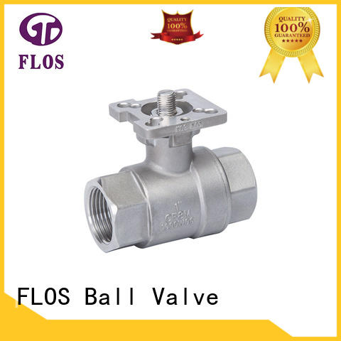 FLOS switch stainless ball valve manufacturer for opening piping flow