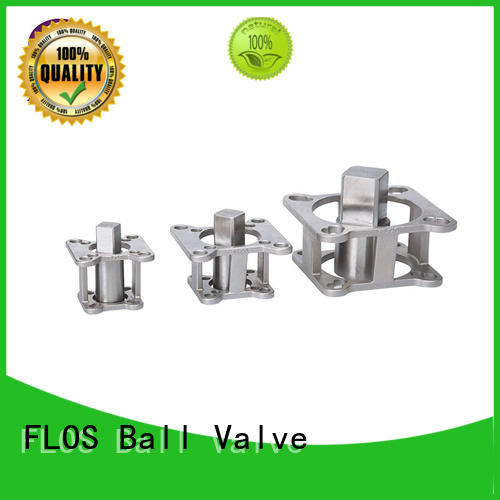FLOS aluminium Valve parts manufacturer for opening piping flow