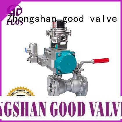 FLOS one uni-body ball valve supplier for closing piping flow