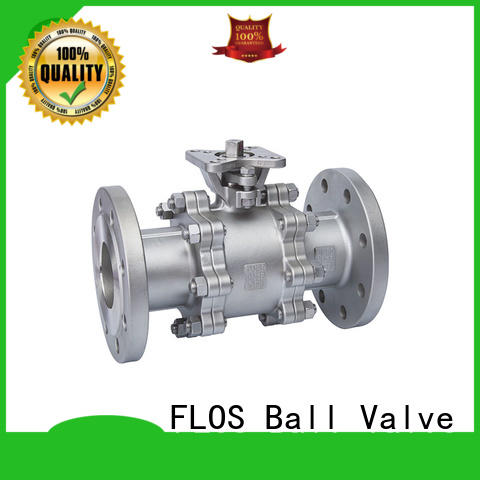 safety three piece ball valve pneumaticworm supplier for directing flow
