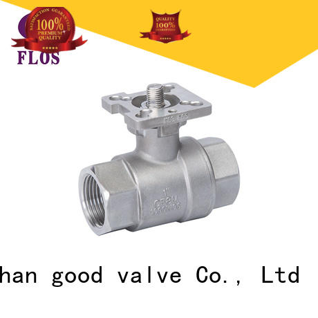 FLOS high quality 2 piece stainless steel ball valve manufacturer for opening piping flow