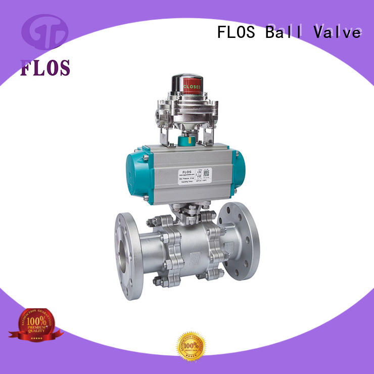 FLOS online 3 piece stainless ball valve wholesale for directing flow