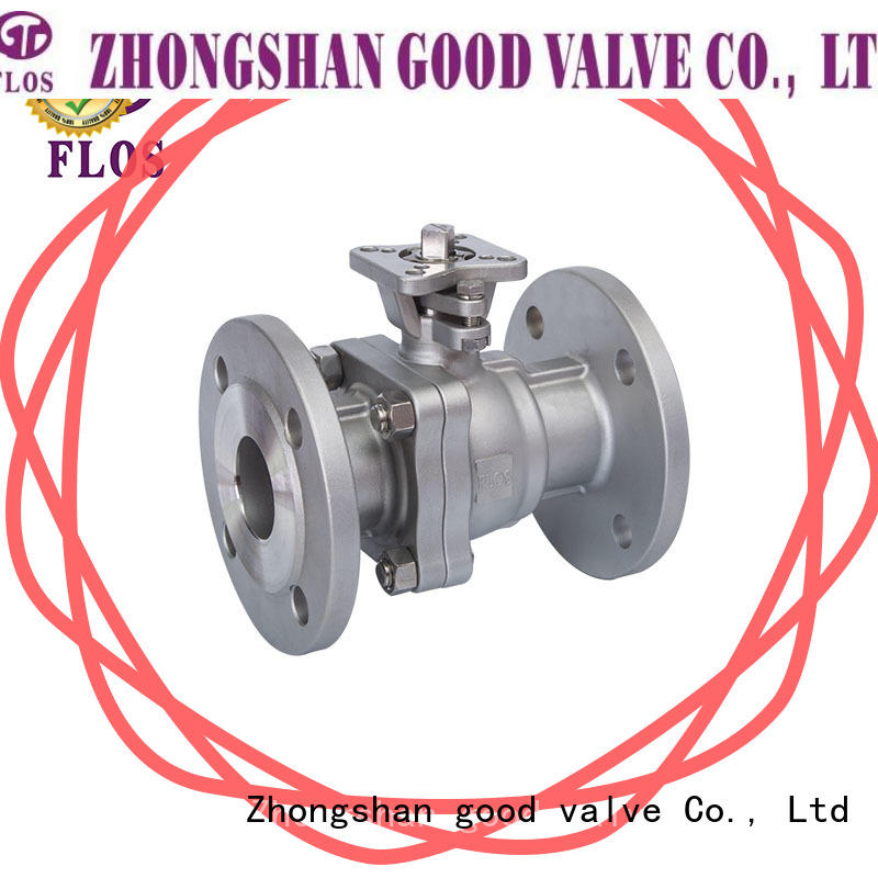 durable 2 piece stainless steel ball valve switch wholesale for directing flow