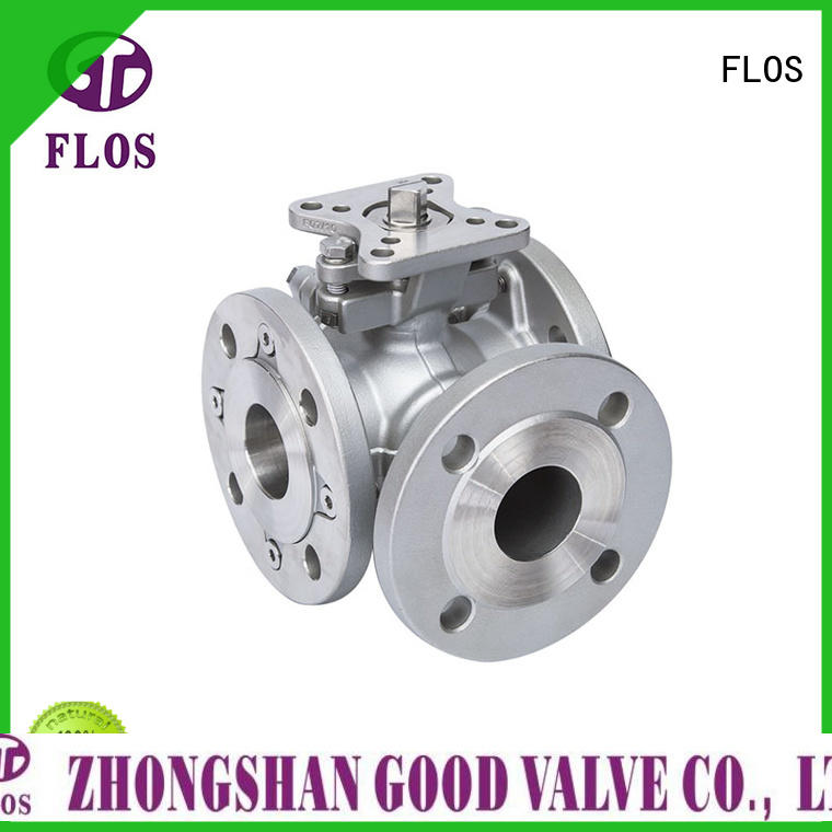 FLOS High-quality three way valve for business for opening piping flow