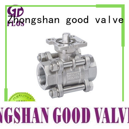 FLOS Custom 3 piece stainless ball valve manufacturers for opening piping flow