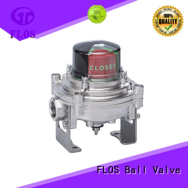Stainless steel open-close position switch