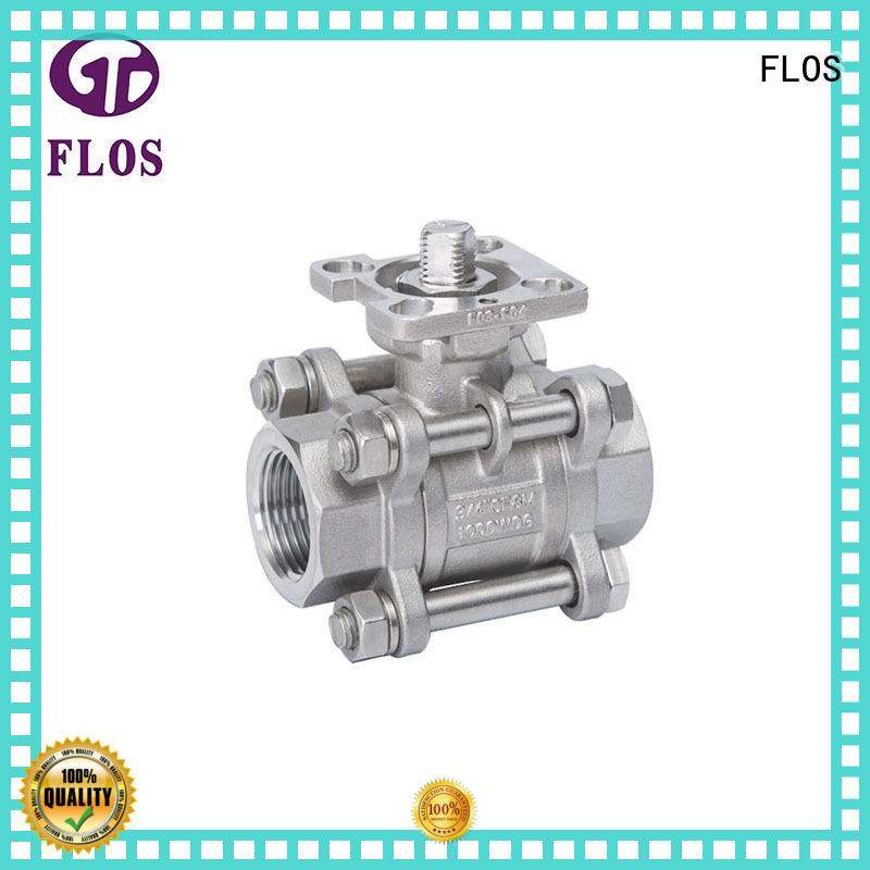 experienced 3 piece stainless ball valve valve wholesale for opening piping flow