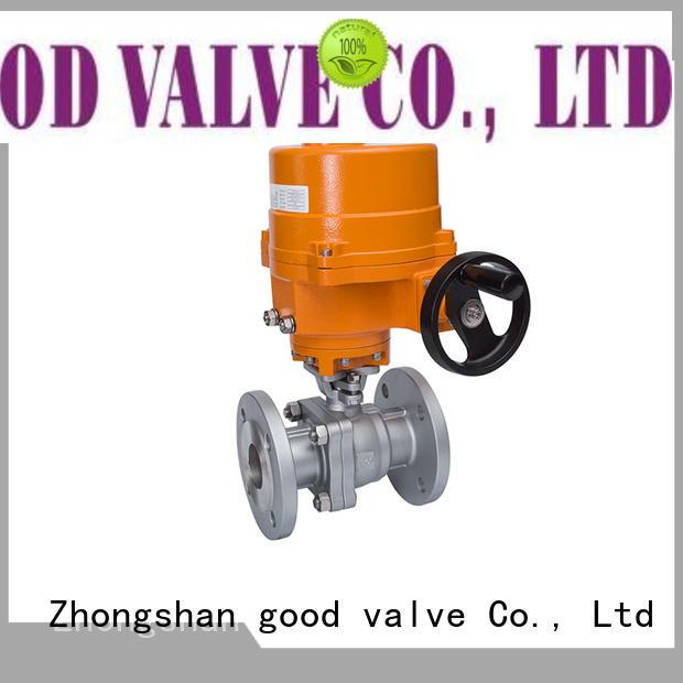 2 pc pneumatic/worm high-platform ball valve, flanged ends