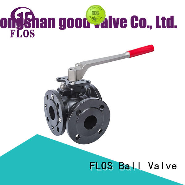 FLOS durable 3 way ball valve manufacturers wholesale for directing flow