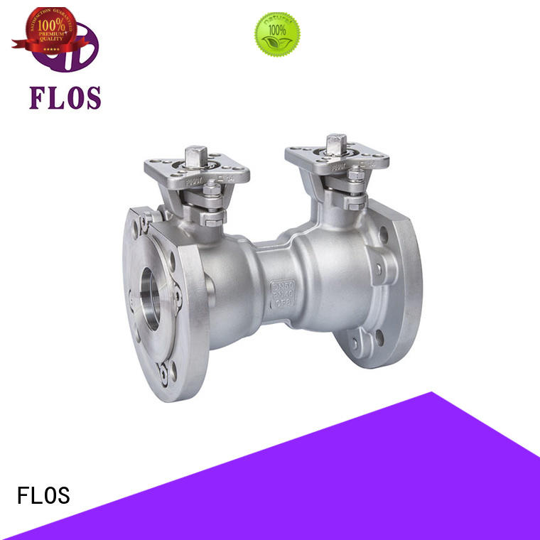 FLOS preservation ball valve manufacturer for closing piping flow