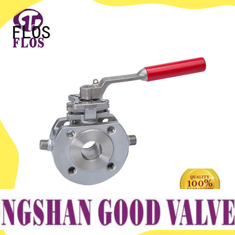 FLOS switchflanged 1 pc ball valve manufacturer for opening piping flow
