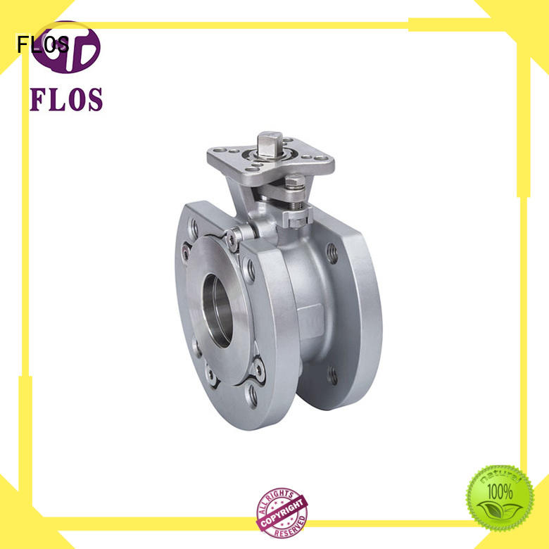 FLOS pneumaticmanual valves Supply for opening piping flow