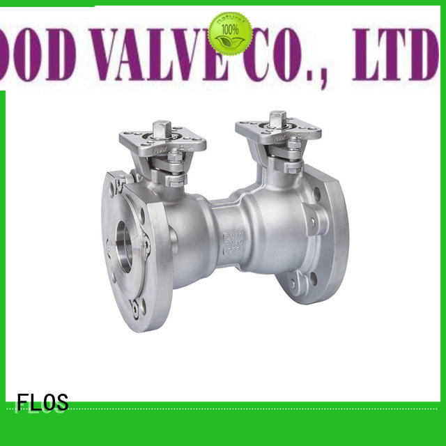 FLOS High-quality single piece ball valve factory for opening piping flow