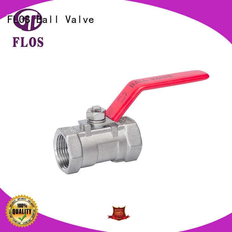 FLOS online one piece ball valve manufacturer for closing piping flow