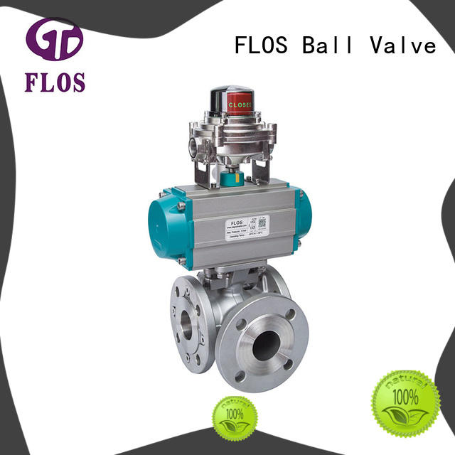 FLOS High-quality three way valve for business for closing piping flow
