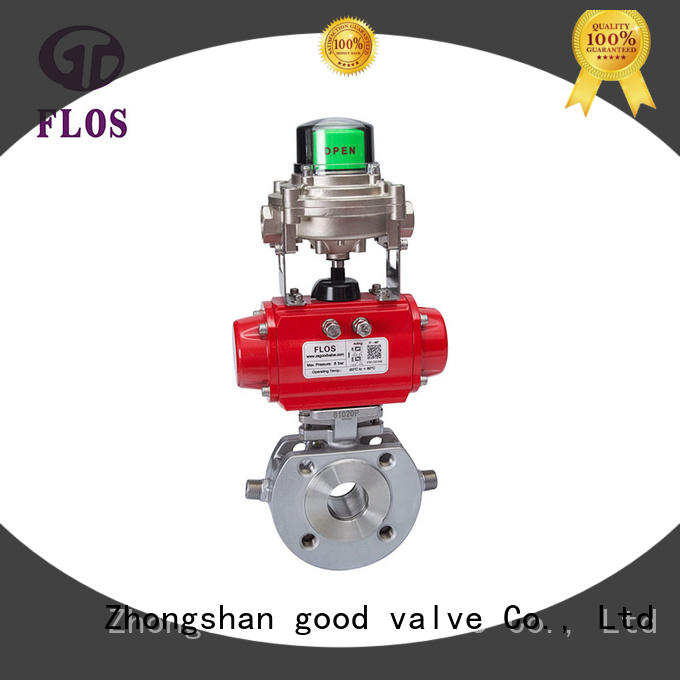 FLOS professional 1 piece ball valve manufacturer for closing piping flow