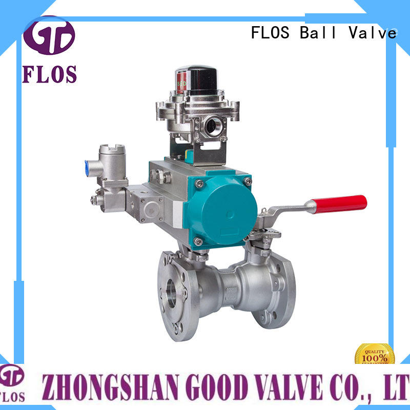 FLOS carbon uni-body ball valve factory for directing flow