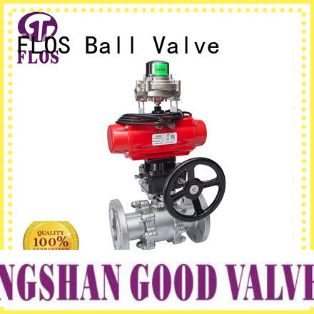 FLOS durable three piece ball valve supplier for directing flow