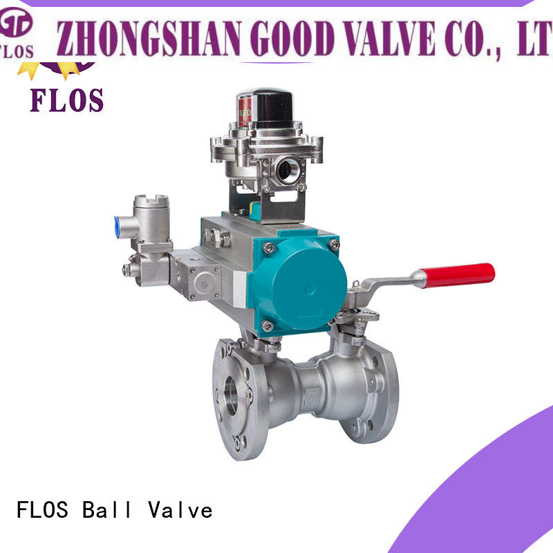 FLOS Latest flanged gate valve factory for closing piping flow