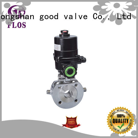 FLOS experienced ball valve supplier for opening piping flow