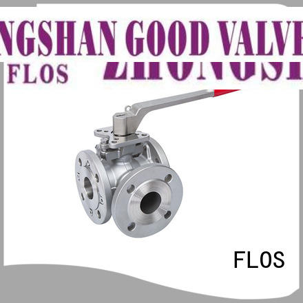 High-quality flanged end ball valve switchflanged factory for directing flow