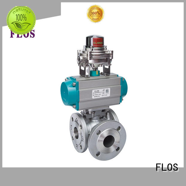 FLOS New three way valve factory for closing piping flow