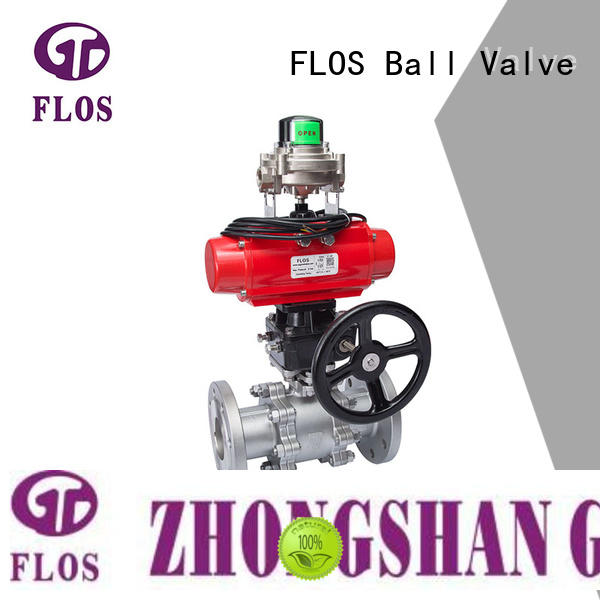 experienced 3 piece stainless ball valve flanged supplier for opening piping flow