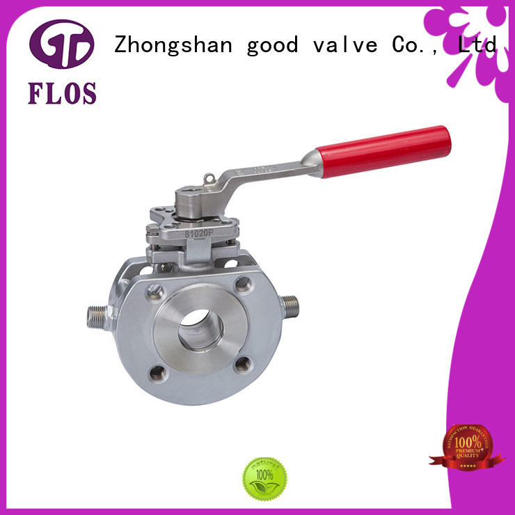 FLOS Custom 1 piece ball valve for business for closing piping flow