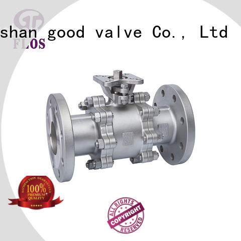 FLOS ball stainless valve wholesale for closing piping flow