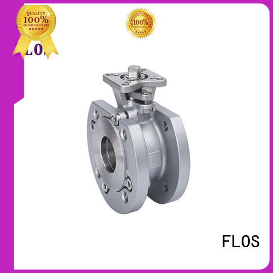 FLOS electric 1-piece ball valve for business for closing piping flow