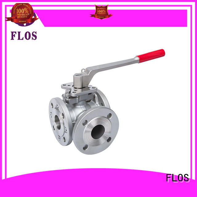FLOS Best 3 way valve factory for closing piping flow