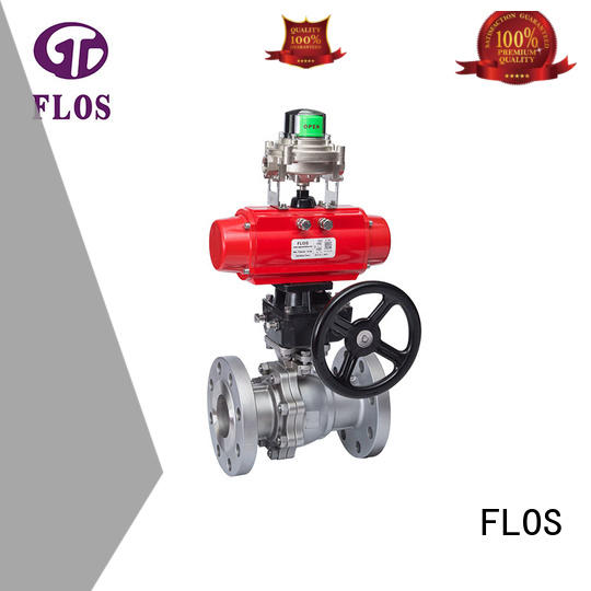 FLOS pc stainless steel valve wholesale for opening piping flow