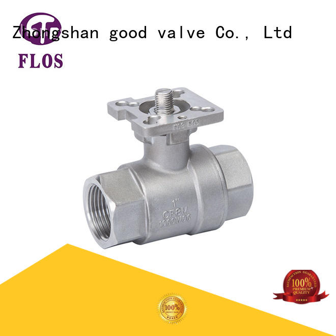 high quality 2-piece ball valve pc wholesale for opening piping flow