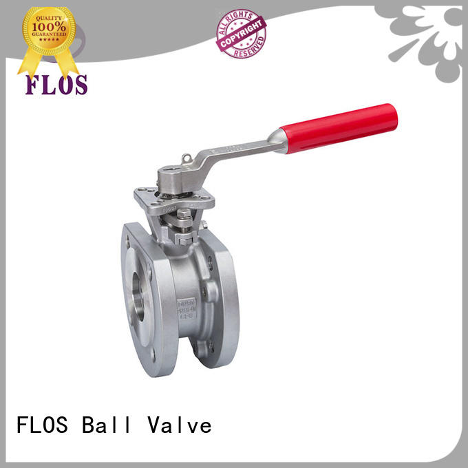 Custom 1 piece ball valve double Supply for closing piping flow
