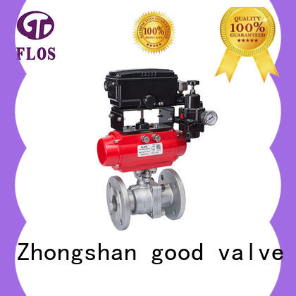 FLOS ball two piece ball valve supplier for opening piping flow