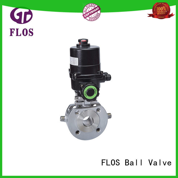 FLOS stainless single piece ball valve wholesale for directing flow