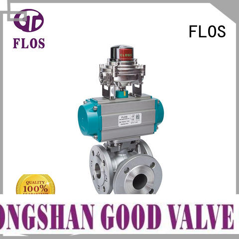 FLOS Wholesale three way ball valve suppliers manufacturers for directing flow