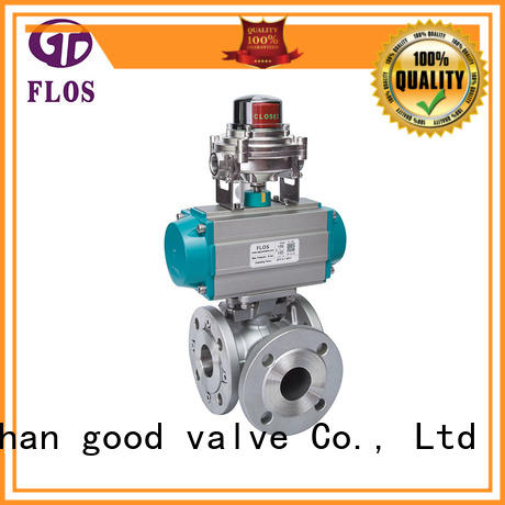 highplatform manual ball valve carbon for closing piping flow FLOS