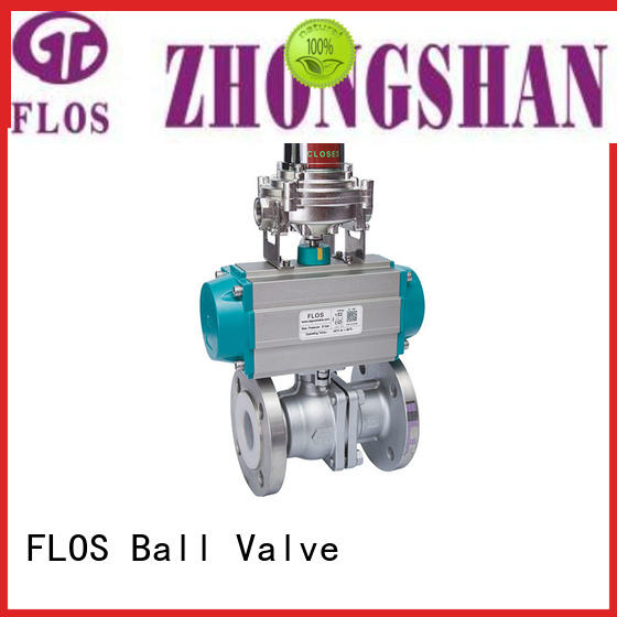 FLOS safety stainless ball valve supplier for directing flow
