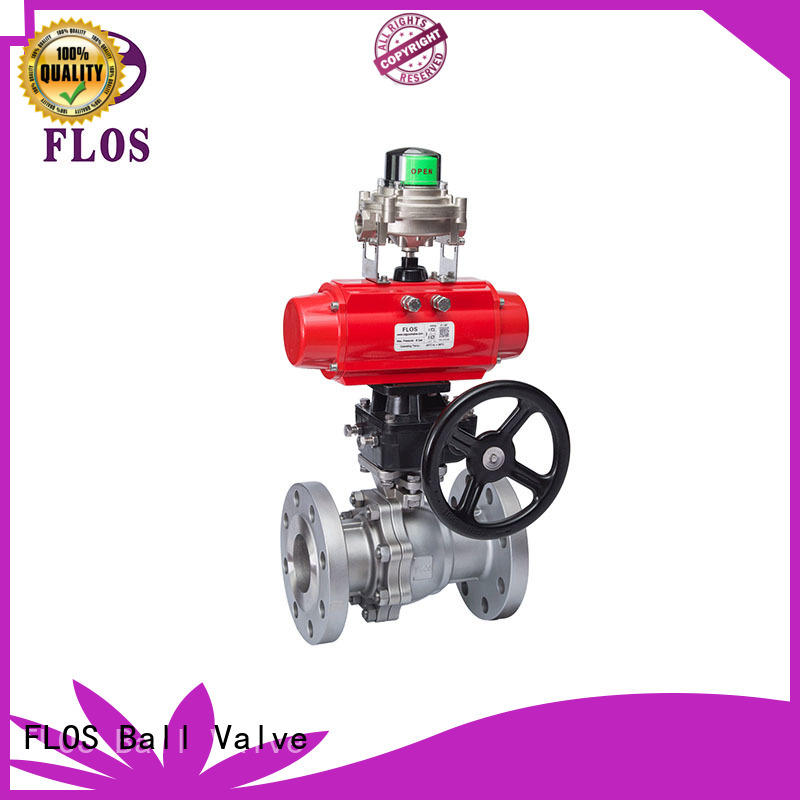 FLOS online two piece ball valve supplier for closing piping flow