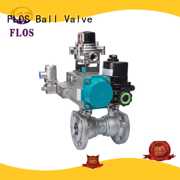 FLOS safety one piece ball valve supplier for closing piping flow