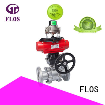 FLOS high quality 2 inch flanged ball valve manufacturer for opening piping flow