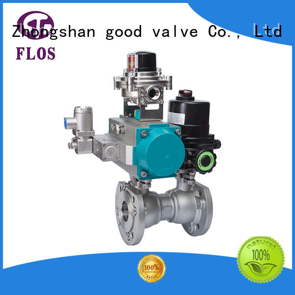 FLOS pneumatic valve company wholesale for closing piping flow