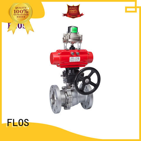 FLOS highplatform two piece ball valve factory for opening piping flow